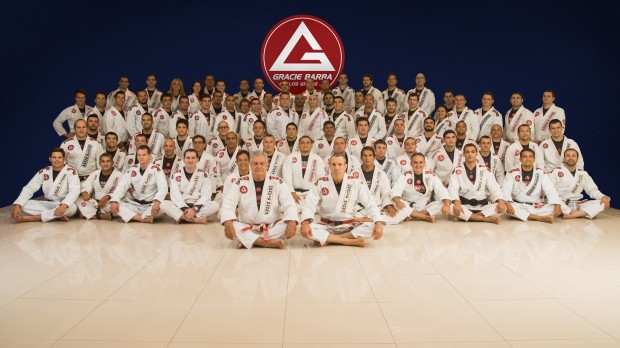 Certificado da Gracie Barra
