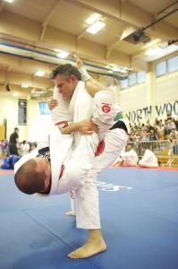 Pro Division purple belts compete