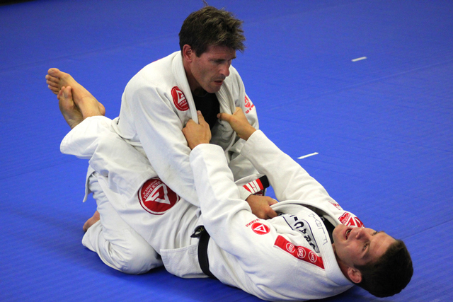 Flavio Almeida teaching Jiu-Jitsu at GB Dana Point