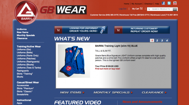 web store virtual gear