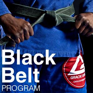 gracie barra bjj black belt program