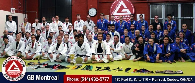"""Gracie Barra Montreal JiuJItsu Canada Tournament"""