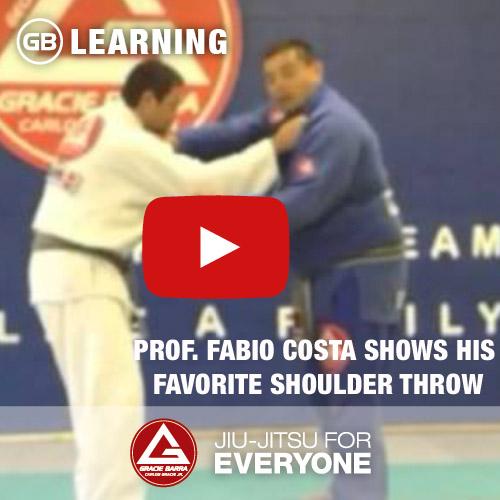 Fabio Costa Shows His Favorite Shoulder Throw