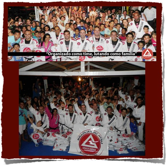 Gracie Barra Helps Kids in Brazil