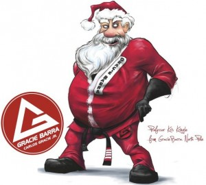 Gracie Barra Santa Clause Game