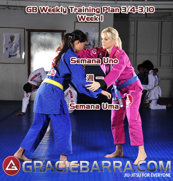 GB Weekly Training Plan Week 1