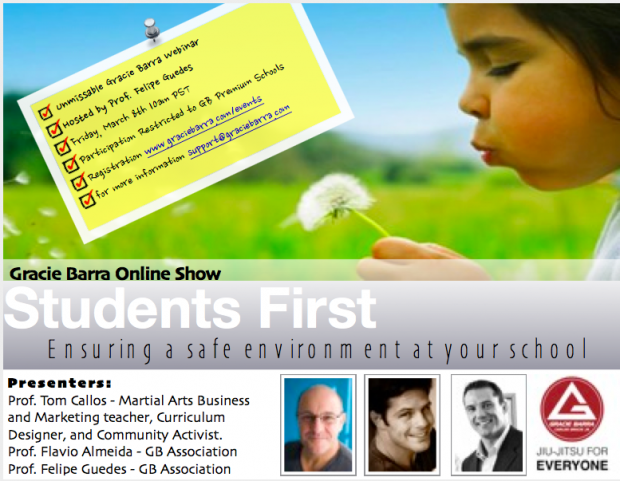 GB Students First Webinar