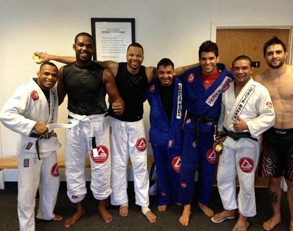 Gracie Barra Jon Jones