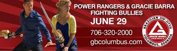 Power Rangers & Gracie Barra