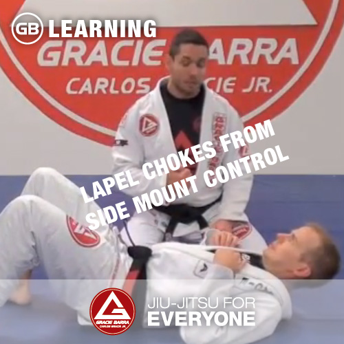 Lapel Chokes From Side Mount Control
