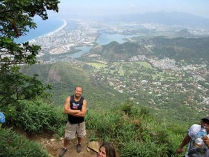 Hiking at Pedra da Gávea