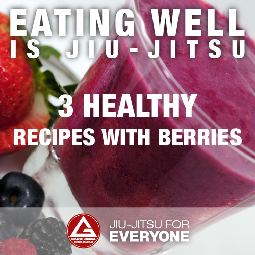 3 healthy recipes with berries