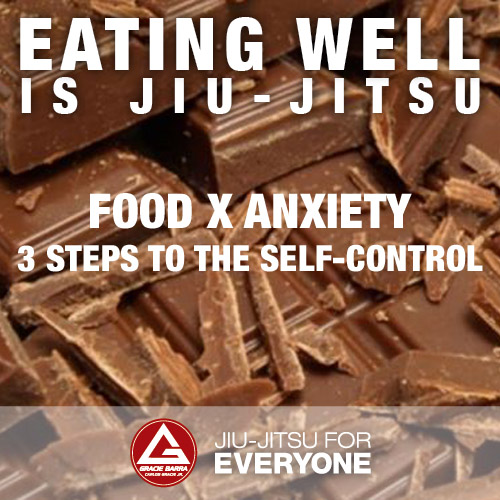 Food x Anxiety – 3 steps to the self-control