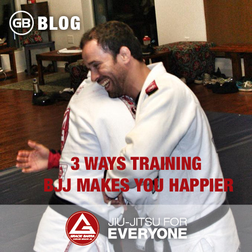 3 Ways Training Bjj Makes You Happier