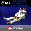 BJJ Techniques that Never Go Out of Style for Rookies