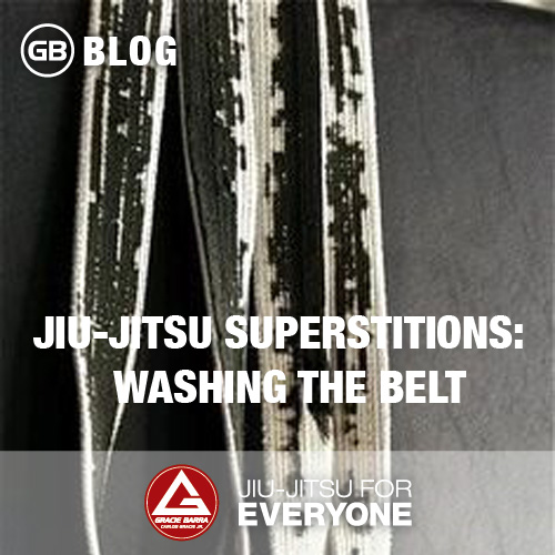 Jiu-Jitsu Superstitions-  Washing the Belt