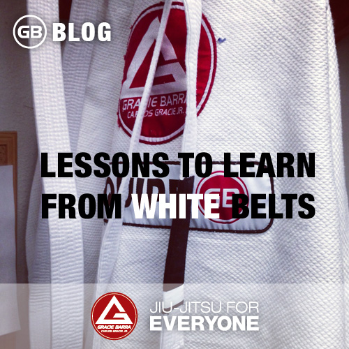 Lessons to learn from white belts