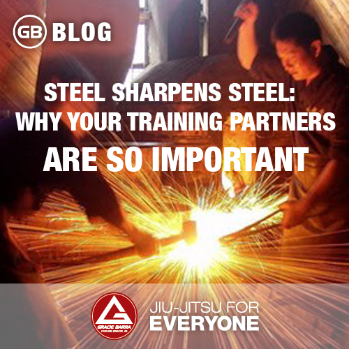 Steel Sharpens Steel - Why Your Training Partners Are So Important