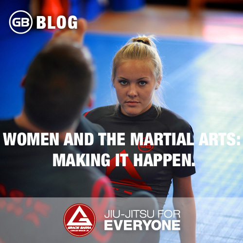 Women and the Martial Arts- Making it happen.