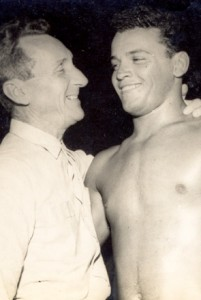 Grandmaster Carlos Gracie Sr. and Carlson Gracie