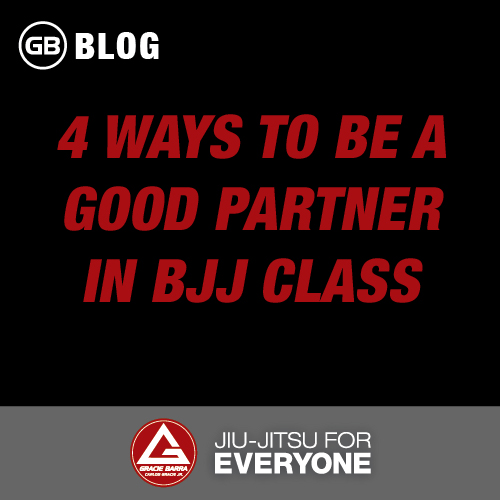 4 Ways to be a Good Partner in Bjj Class