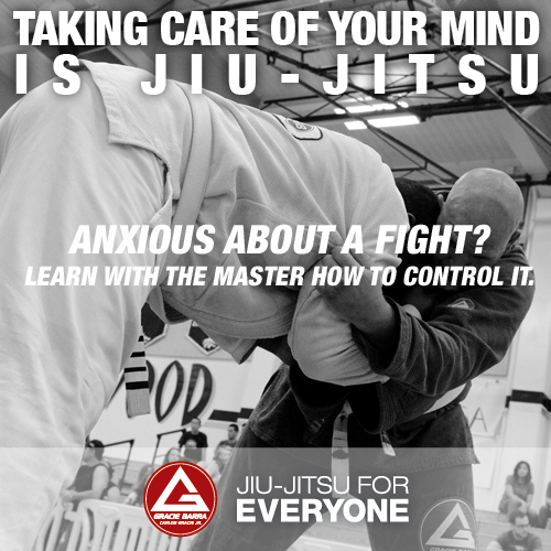 Anxious about a fight- Learn with the master how to control it.