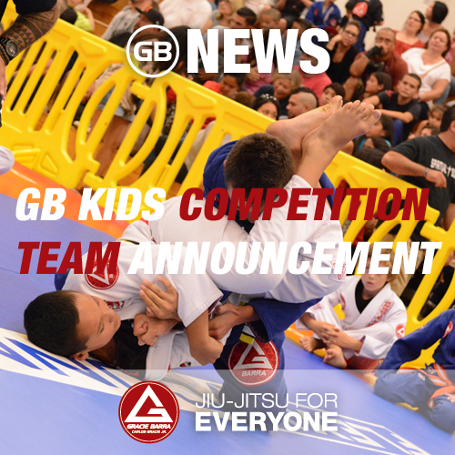 GB Kids Competition Team Announcement