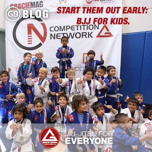 Start Them Out Early- BJJ for kids.
