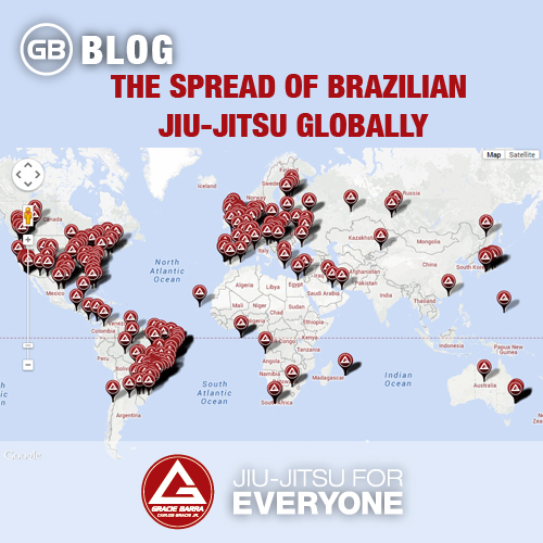 The Spread of Brazilian Jiu-jitsu Globally