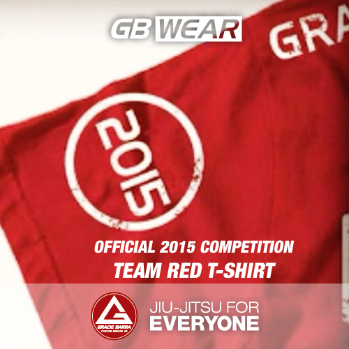 Official 2015 Competition Team Red T-shirt