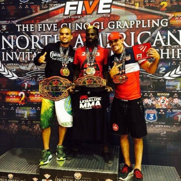 five podium