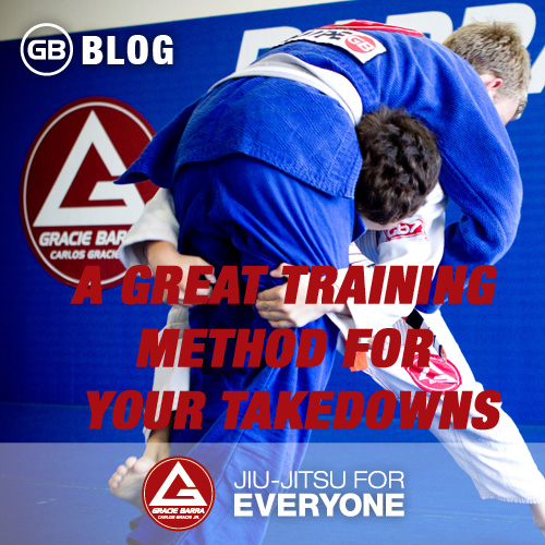 A Great Training Method For Your Takedowns