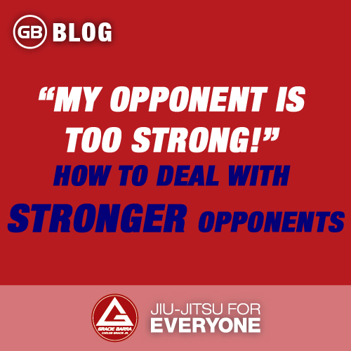 """My Opponent is Too Strong!"""" – How To Deal with Stronger Opponents"""