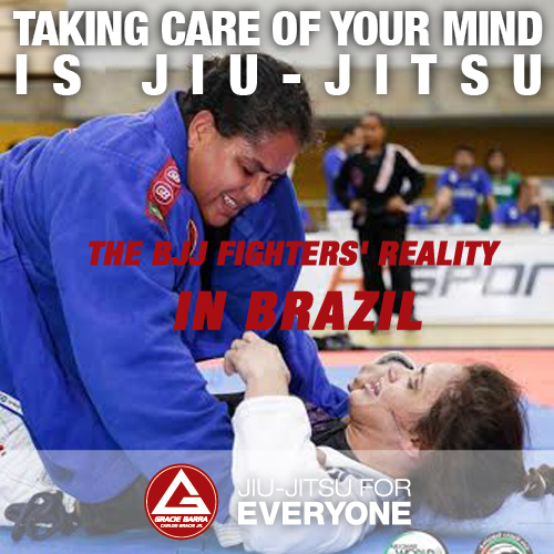 THE BJJ FIGHTERS' REALITY IN BRAZIL