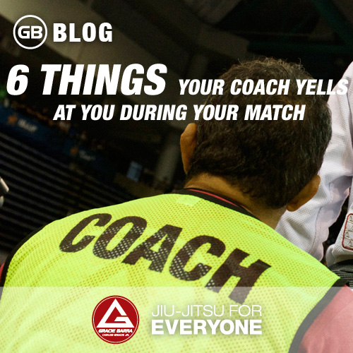 6 Things Your Coach Yells at You During Your Match
