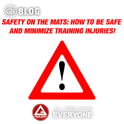 Safety on the mats- How to be safe and minimize training injuries!