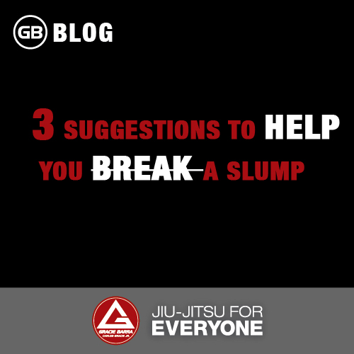 3 Suggestions to Help You Break a Slump