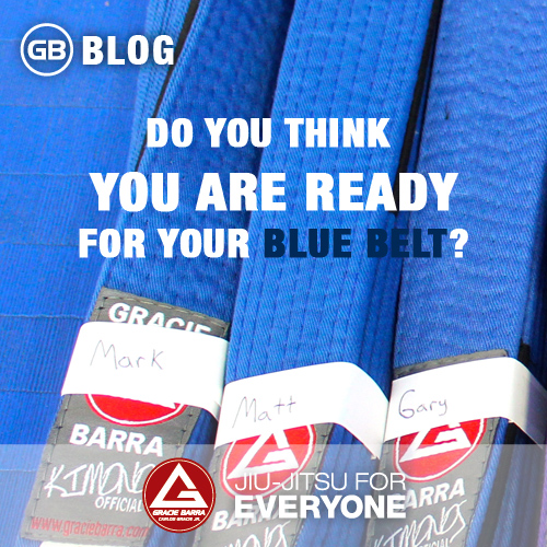 Do You Think You Are Ready For Your Blue Belt