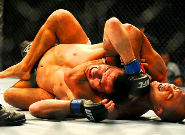 submission rear naked choke